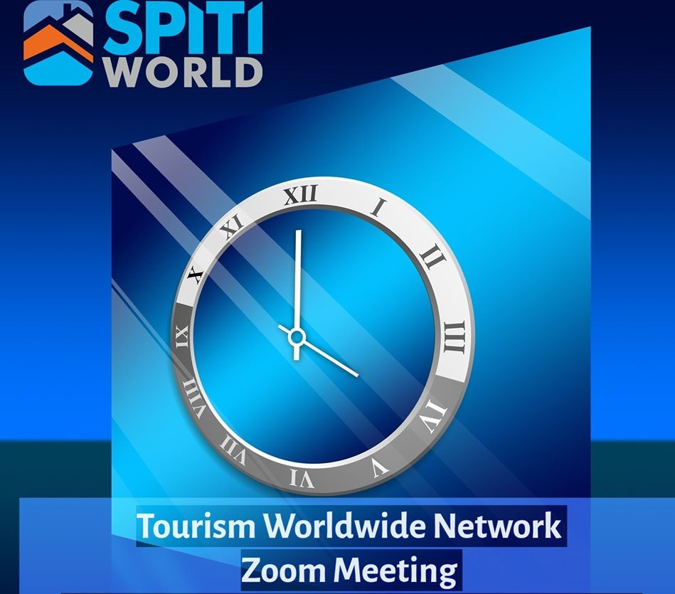 9TH SPITI WORLD TOURISM WORLDWIDE NETWORK ZOOM MEETING