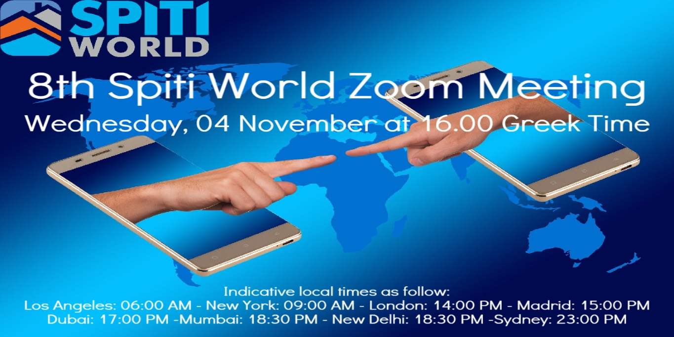 8th SpitiWorld Zoom Meeting